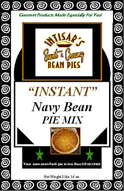 bean pie package black and white first o