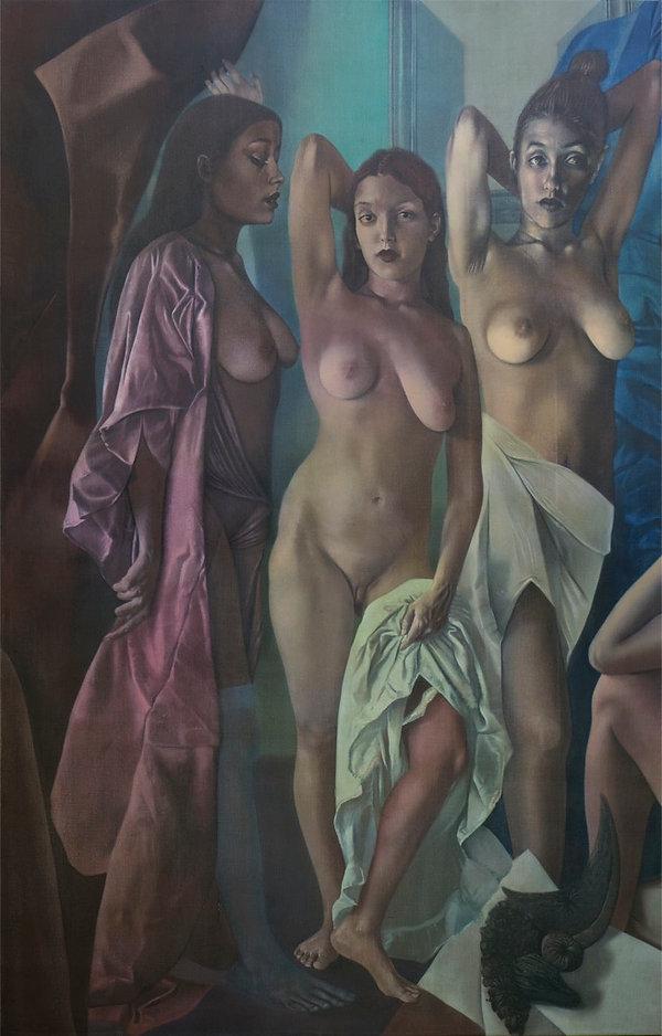 2009-09, Elliott Wall, Les Demoiselles d