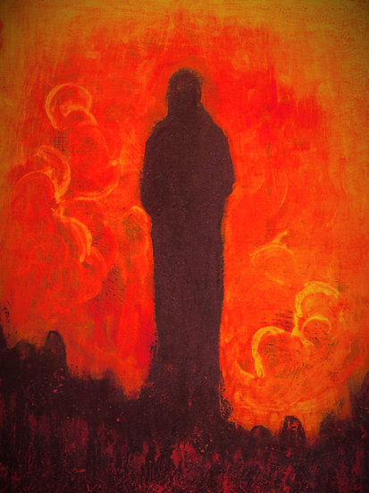 Statue Fire