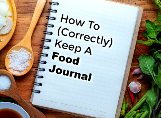 How To (Correctly) Keep A Food Journal