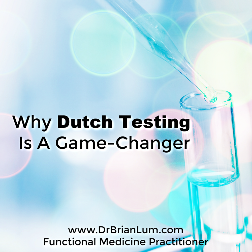 Test tubes with dropper. Text overlay that says Why Dutch Testing Is A Game Changer.