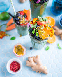 healthy fruit smoothie
