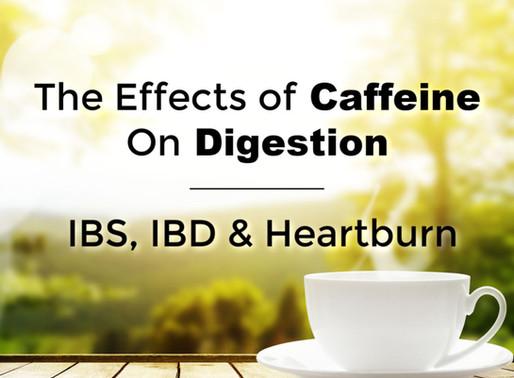 The Effect of Tea and Coffee on IBD, IBS & Heartburn
