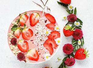 A Heart Healthy Bowl of Strawberries and Yogurt