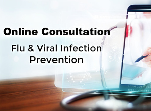Online Consultation For Flu and Viral Infection Prevention
