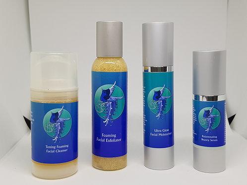 Hebe Skincare Blue Label Range - Full Set