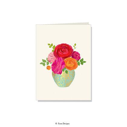 Bouquet Folded Note