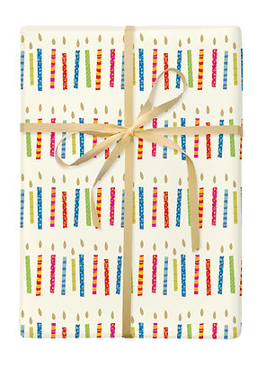 Candles Gift Wrap