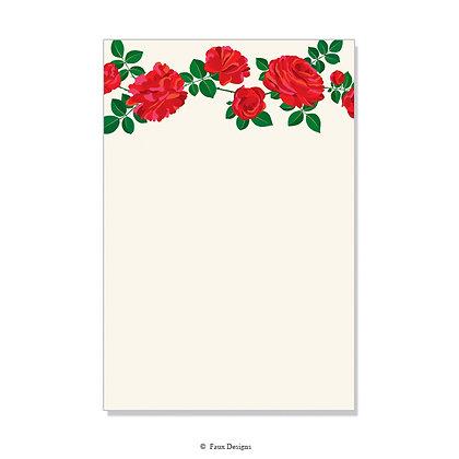 Shoshana Red Invitation - Blank