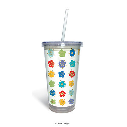 Forget Me Not Tumbler