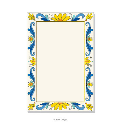 Tuscany Multi Invitation - Blank