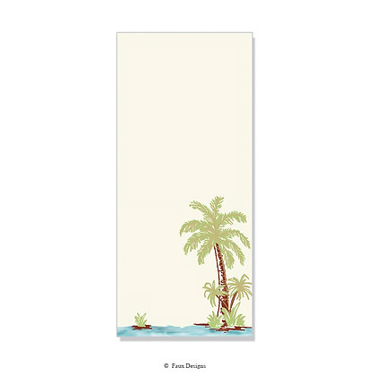 Tropical Palm Invitation - Blank