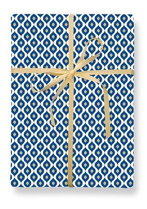 Mendoza Blue Gift Wrap