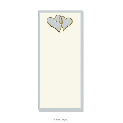 Two Hearts Invitation - Blank