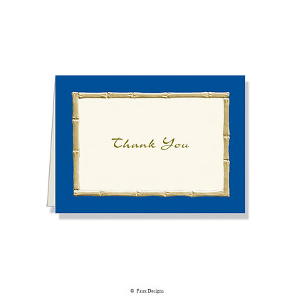 Thank You - Bamboo Blue
