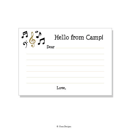 Do Re Mi Fill-in Camp Note