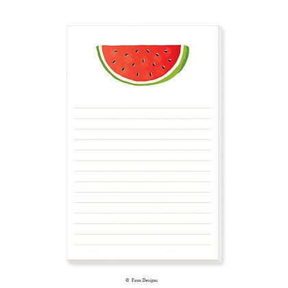 Watermelon Memo Pad