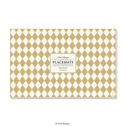 Diamond Gold Placemat
