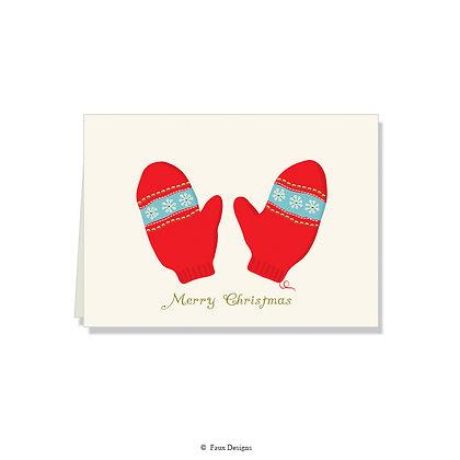 Merry Christmas - Mittens