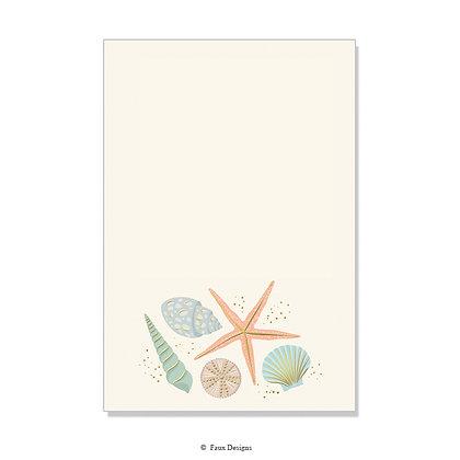 Shells Invitation - Blank
