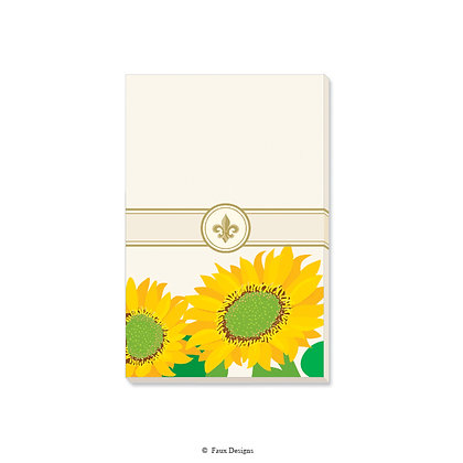 Sunflower Gift Pad