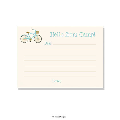 Bicycle Fill-in Camp Note