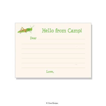 Grasshopper Fill-in Camp Note