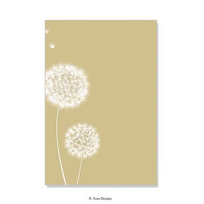 Wish Gold Invitation - Blank