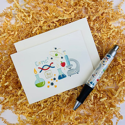 Science is Real Folded Note & Pen Set