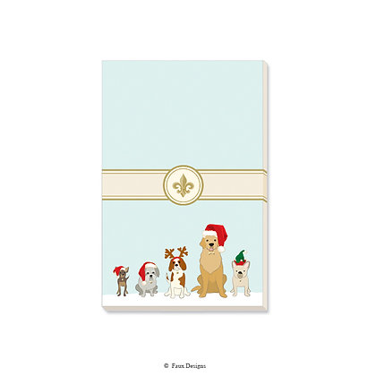 Holiday Dogs Gift Pad