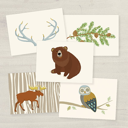 Woodland Wonders Correspondence Set