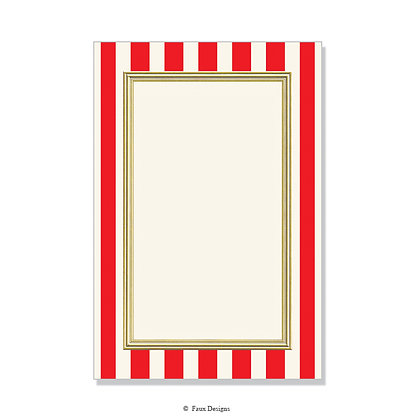 Polo Red Invitation - Blank