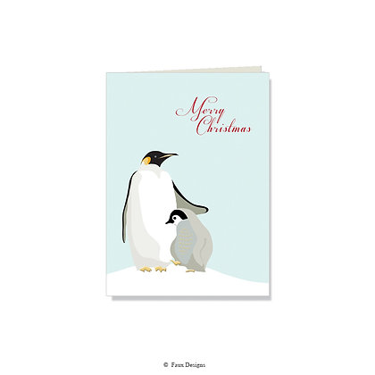 Merry Christmas - Penguin