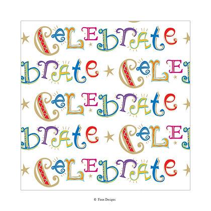 Celebrate Gift Wrap