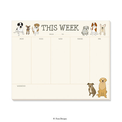 Dogs Weekly Pad