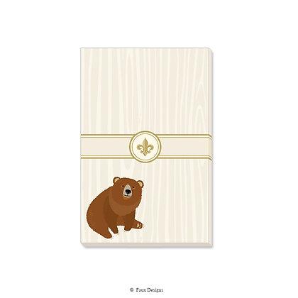 Bear Gift Pad