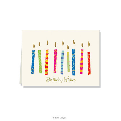 Birthday Wishes  - Candles