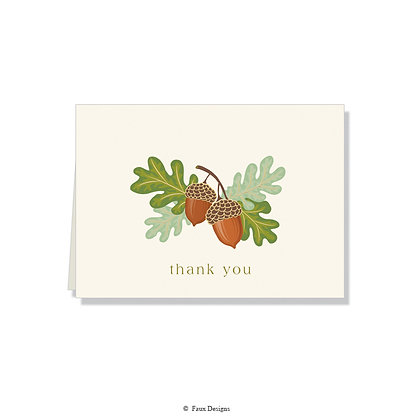 Thank You - Acorn