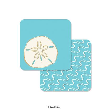 Sand Dollar Coaster