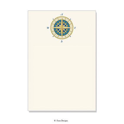 Compass Rose Invitation - Blank