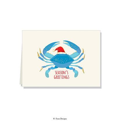Season's Greetings - Blue Crab