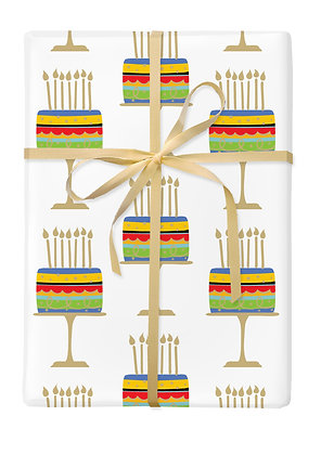 Cake on Stand Gift Wrap