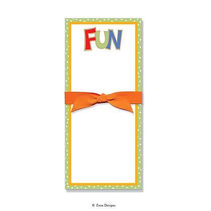 Fun Gift Pad