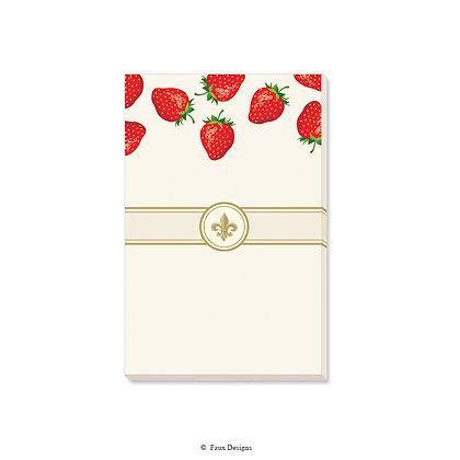 Strawberries Gift Pad