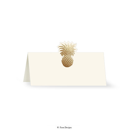 Pineapple Placecard