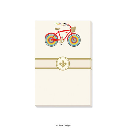 Rainbow Bicycle Gift Pad
