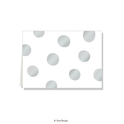 Felicity Silver Folded Note