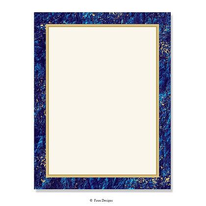 Villa Lapis Lazuli 8.5 x 11 Sheet