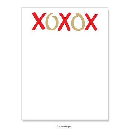 XOXO 8.5 x 11 Sheet