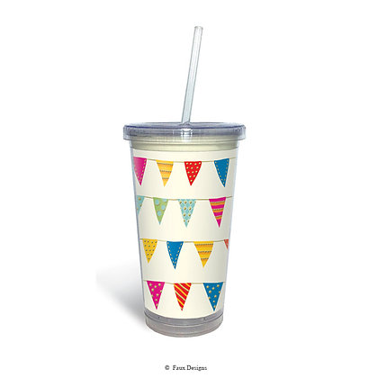 Party Banner Tumbler